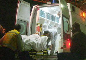 Çubuk'ta İnşaat Kazası:1 Yaralı